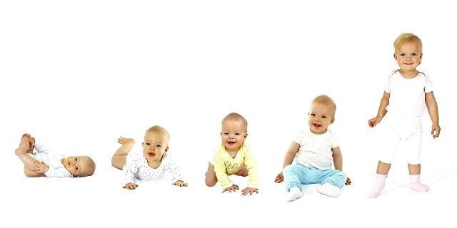 физическое развитие ребенка от 0 до 1 года