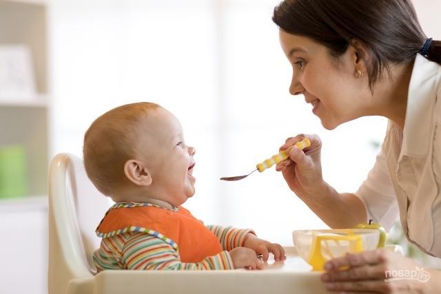 Основные правила введения первого прикорма