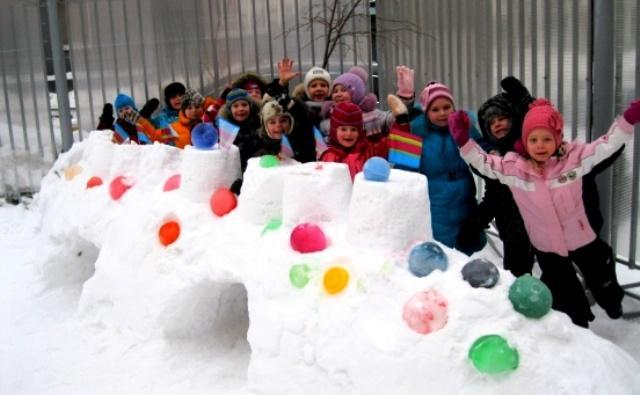 Подвижные игры зимой для детей дошкольного возраста