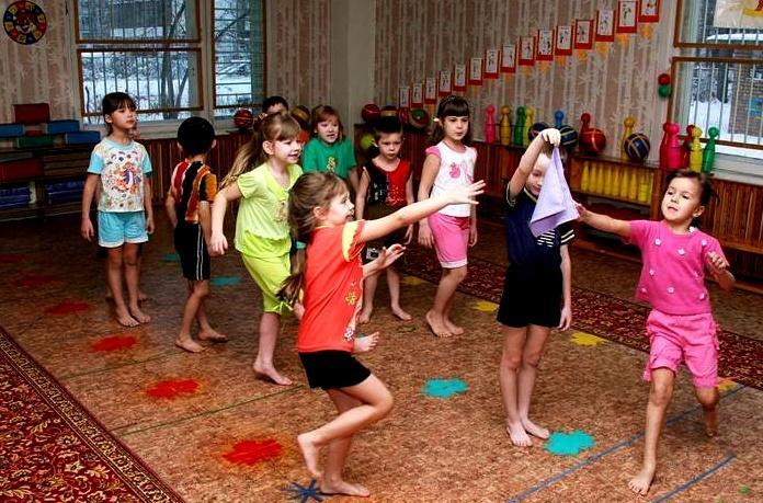 Игра подвижная для дошкольников