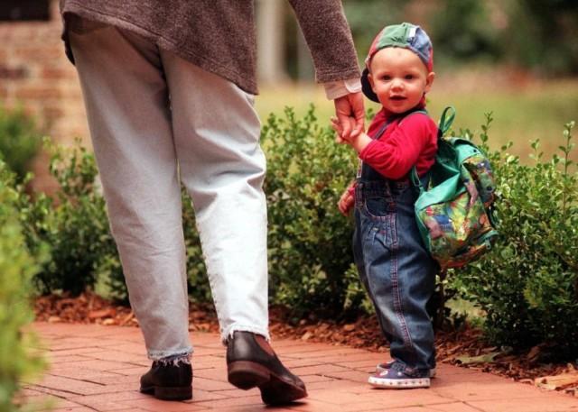 ребенок пошел в садик