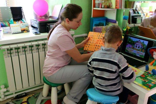 Индивидуальное занятие с ребенком