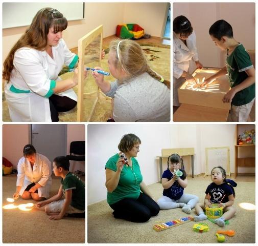 Сотрудники детского сада для детей с ОВЗ
