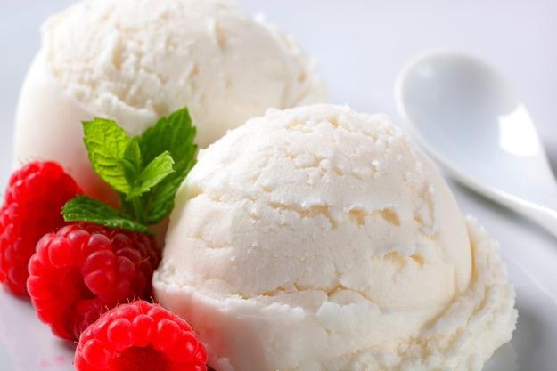 Мороженое из молока и сухой молочной смеси