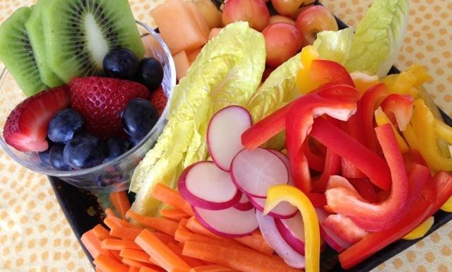 после приема антибиотиков: овощи и фрукты