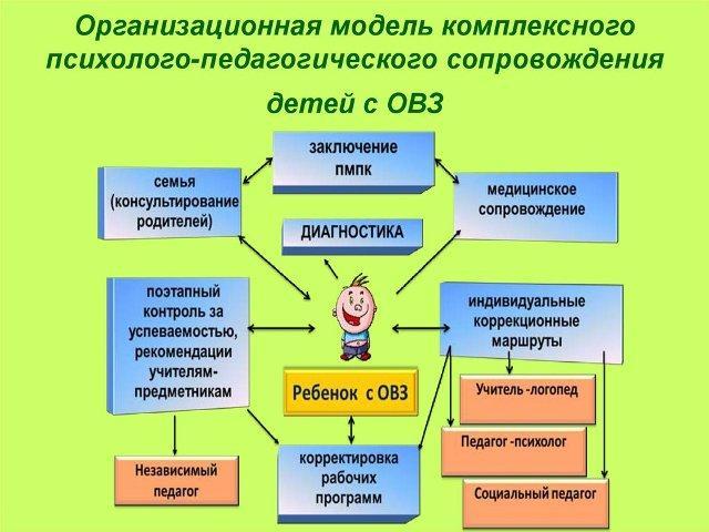 Комплексное сопровождение детей с ОВЗ в детском саду