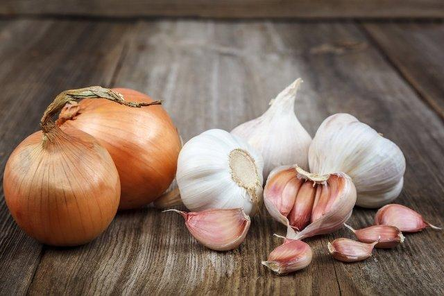 лук и чеснок для повышения иммунитета