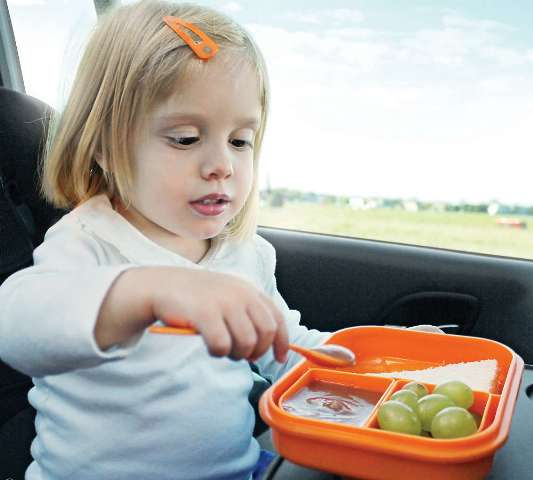 Что взять из еды в дорогу детям?