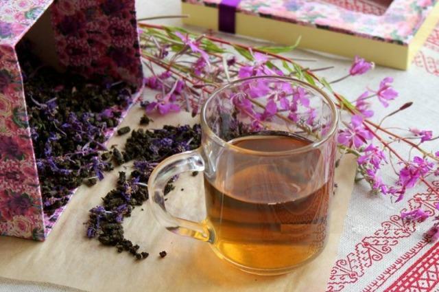 стакан иван-чая