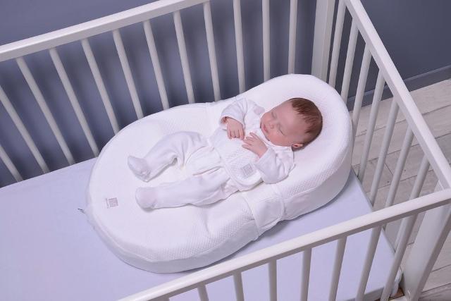 Матрас для новорожденного в виде кокона-люльки