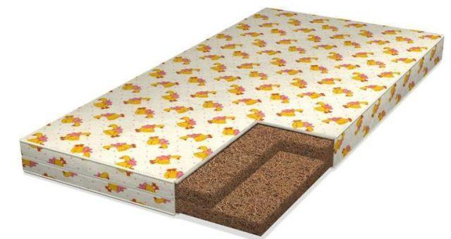 Кокосовые матрасы для детей