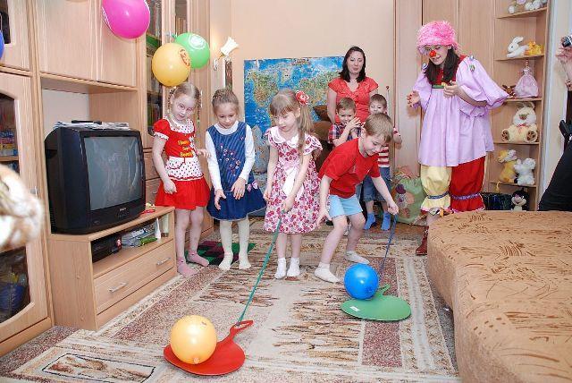 Смешные конкурсы для детей на день рождения
