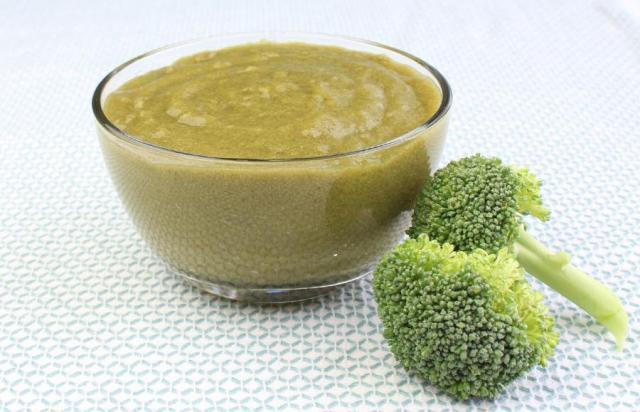 Первый прикорм: овощное пюре