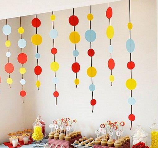 как оформить комнату на день рождения ребенку