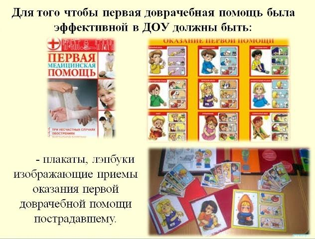 Оказание первой доврачебной помощи детям