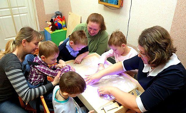 Работа с детьми с ОВЗ в ДОУ