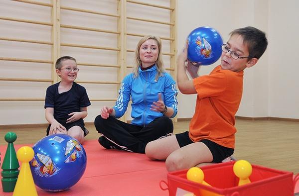 Работа инструктора по физической культуре с ребенком с ОВЗ