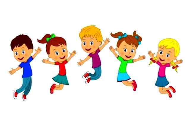 Физминутки в детском саду дети прыгают