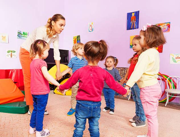 Физминутки в детском саду