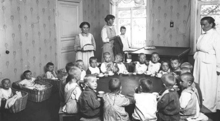 приют для брошенных детей