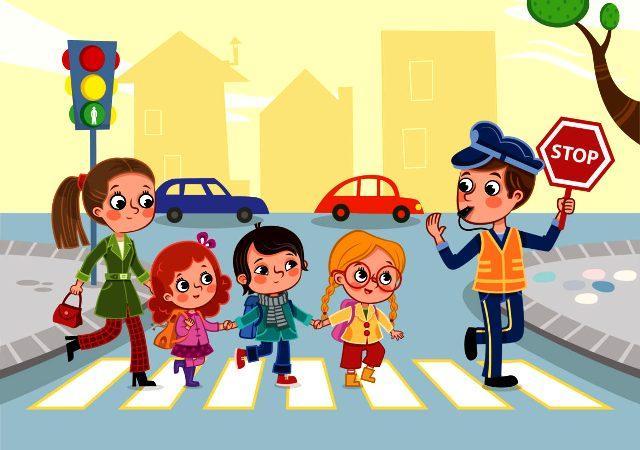 ПДД для детей дошкольного возраста в игре