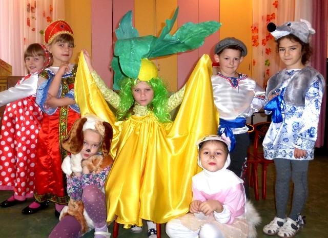 Репка сказка детский сад