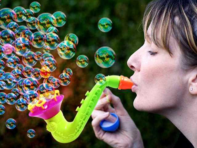 Как сделать мыльные пузыри своими руками