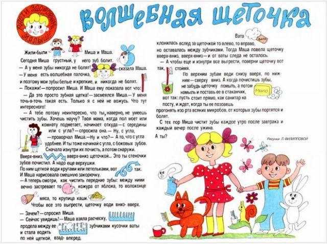 ЗОЖ для детей КАРТОТЕКА