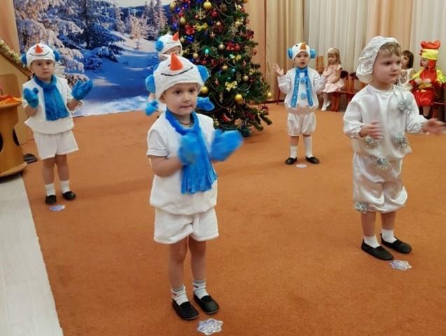 Новогодние сценки для детей в детском саду
