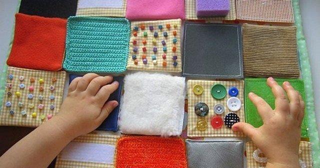 Отыскать на ощупь: тактильный коврик