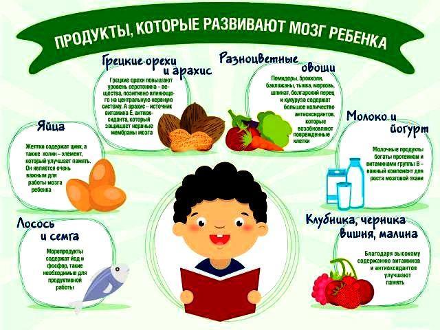 питание для улучшения памяти