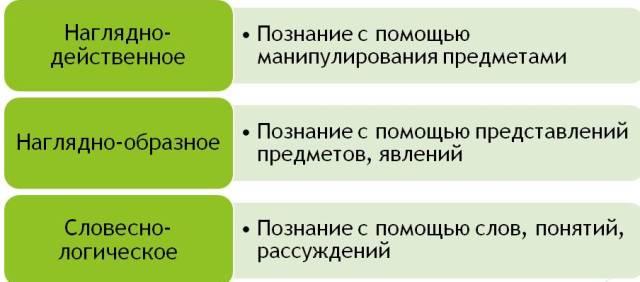 Типы мышления
