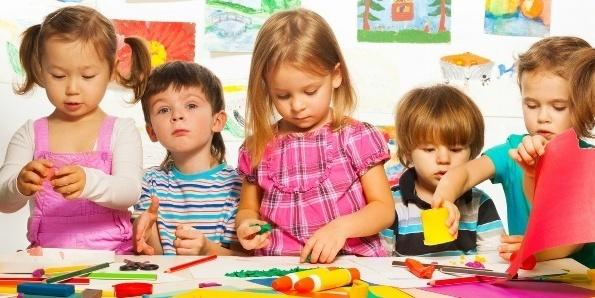 Развитие воображения у детей дошкольного возраста. Песочные замки.