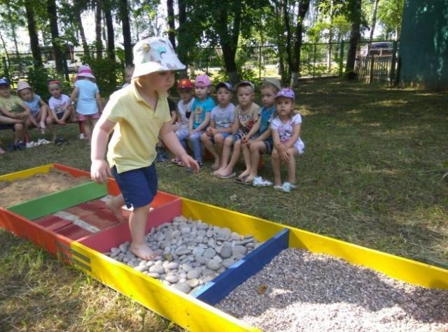 Как сделать дорожку здоровья для детского сада