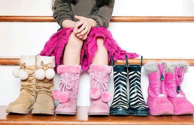 Размер обуви по возрасту