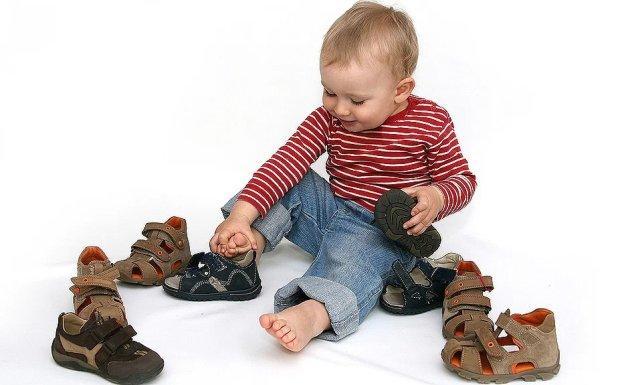 Размер обуви таблица для мальчиков по возрасту