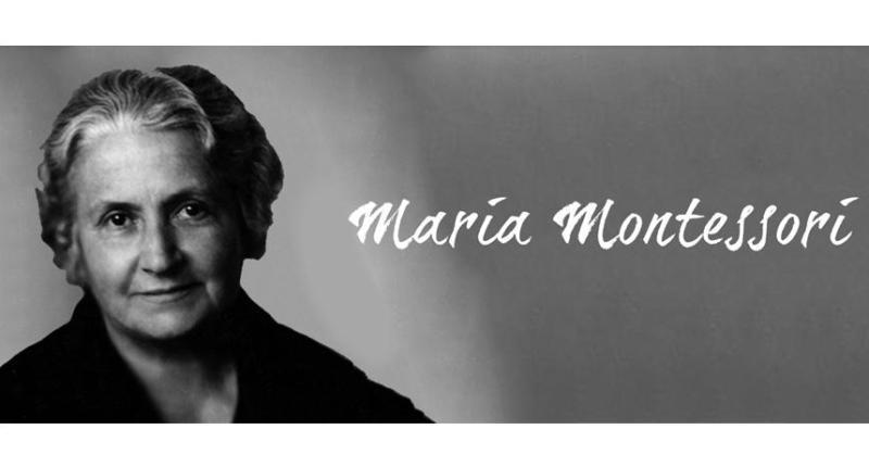 портрет Марии Монтессори