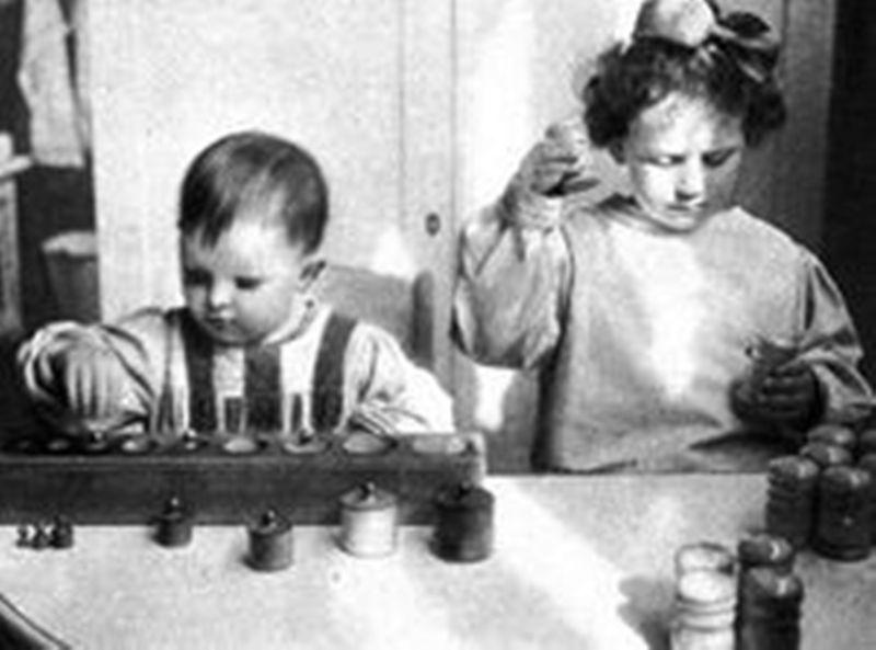 развитие детей по Монтессори