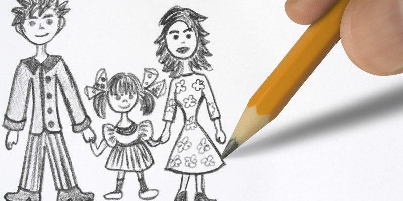 семья рисунок