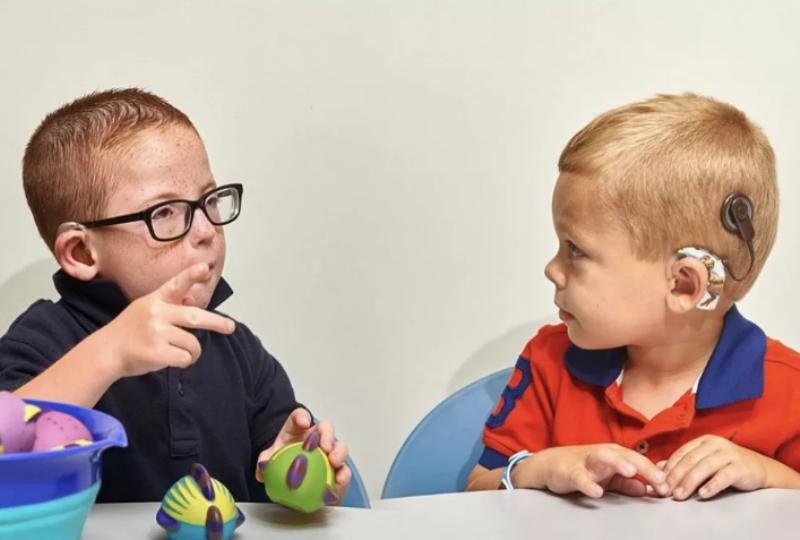 Ребенок слабослышащий определение