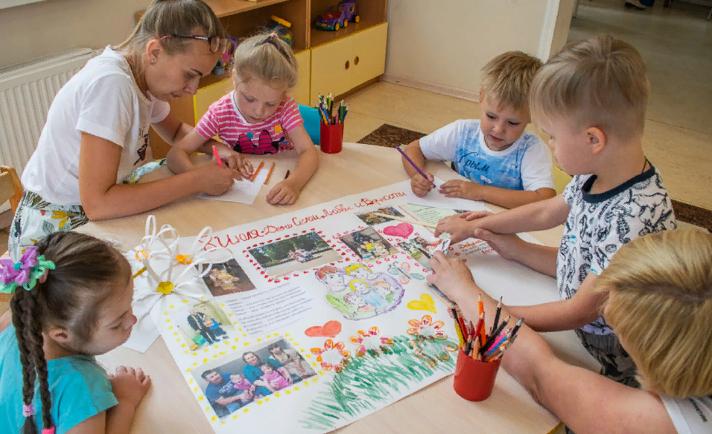 развивающие занятия с детьми в ДОУ