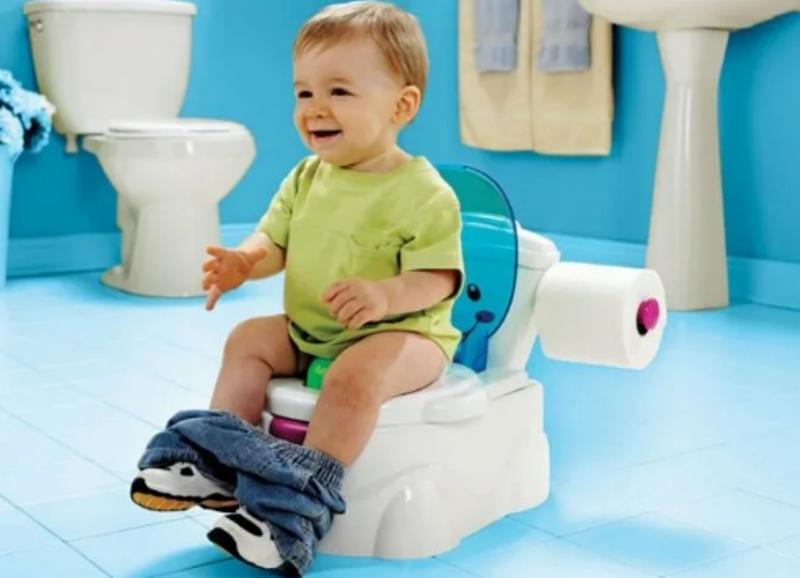 Как приучить ребенка к горшку самостоятельно