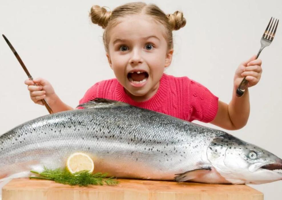Какая рыба полезнее для детей а какая вредна