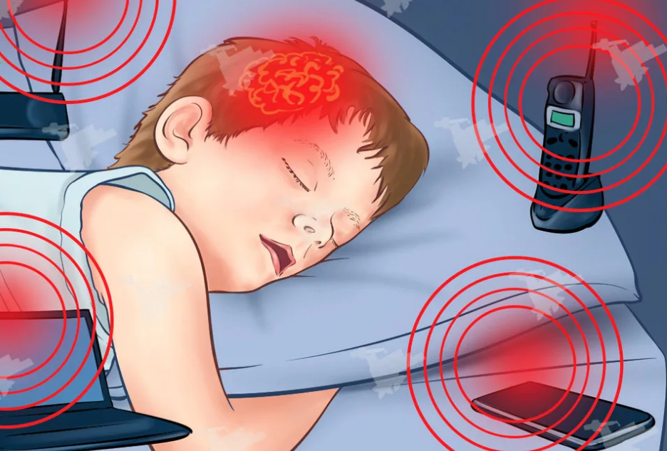облучение гаджетами во время сна